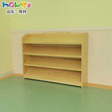 幼儿园书柜厂家直销 幼儿园实木多功能收纳置物图书架