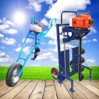 亚博国际真实吗机械机 山坡植树挖坑机 手提式汽油植树挖坑机 双人植树挖坑机