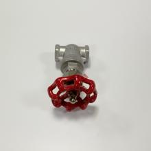 304不锈钢螺纹闸阀 DN40不锈钢螺纹阀门 丝扣不锈钢闸阀1.2寸