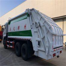 不超总得的总质量25吨的压缩式垃圾车