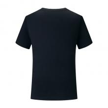 圆领广告衫定制,T恤衫定做文化衫团购批发,SHID-Y887,180g弹力丝光棉圆领短袖活动聚会衫