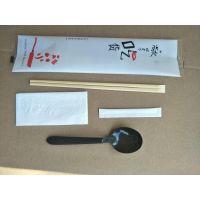 澳强家AUCRO一次性筷子四件套纸巾牙签套装单支包装竹筷子汤匙套装