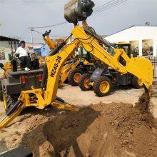 多功能挖机可以挖掘深度4米的轮式挖掘机厂家