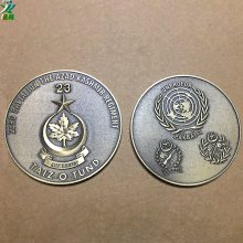 仿古铜币定制和平纪念币章反侵略战争胜利周年纪念章定制