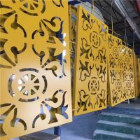 大连镂空雕花铝单板、加油站铝板