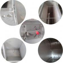 仔猪用双面保育食槽 不锈钢双面食槽 双面六孔保育床专用养猪设备