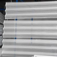 金属网墙 安装防风网 圆孔防风抑尘网