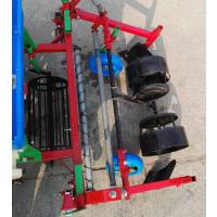 双垄花生种植机 覆膜加喷药花生播种机 拖拉机悬挂花生种植机