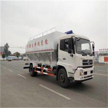 15吨散装饲料罐专业定做28方猪场专用车快速运饲料转运车