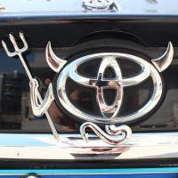 汽车金属改装标 实心金属小恶魔 3D立体金属恶魔车贴 R199-14