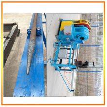 全自动小导管尖头机 隧道支护尖头设备易操作 产量高