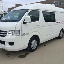 福田G7双排商务面包冷藏车 冷冻车蓝牌冷链车