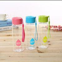 厂家直销定制特价款pc杯学生水杯 杯子创意潮流水壶 塑料杯500ml