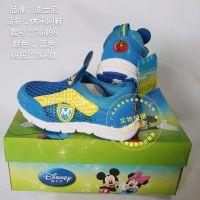 一线品牌运动时尚休闲迪士尼童鞋专柜*** 品牌童鞋童装折扣批发 儿童网鞋凉鞋