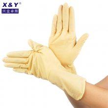 百级乳胶手套 工业耐酸碱手套家用防水防油洗衣洗餐具防护手套 抗撕裂耐用型手套