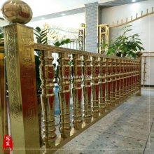 不锈钢广东宾馆酒店装修建材不锈钢立柱仿古铜定制