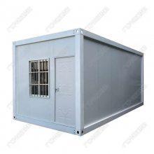 厂家直销进出口集装箱房 工地住人活动房 彩钢板岩棉拼装式厢房板房