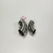 不锈钢卫生级弯头DN65 304不锈钢90度弯头 双喆内外抛光弯头