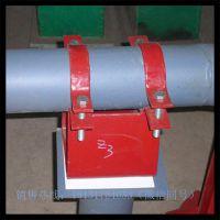 沧州汇鹏 专业生产D3双孔短管夹 D2三孔短管夹