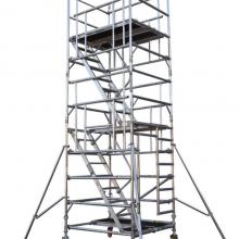特色铝合金脚手架 移动式铝合金脚手架存储方便 价格便宜