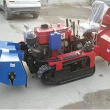 一键电启动柴油旋耕回填机 履带式田园管理机