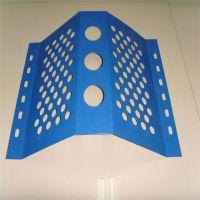 竖板防风抑尘网 防风抑尘墙网 方孔冲孔网