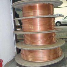 T2空调用紫铜盘管 国标紫铜毛细管 3*0.5mm紫铜管 c1100高纯铜管