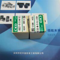 工业CKD/喜开理SSD2-KL-100C-90-N电磁阀直角式DC24V***原装