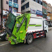 湖北永航压缩垃圾车怎么样 永航12方压缩垃圾车参数配置价格