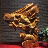 太行崖柏根雕飞天武达摩弥勒佛木质工艺品实木根雕木头装饰木摆件