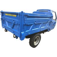 厂家直销混凝土载重工程三轮车 农用柴油机动粮食三马子车
