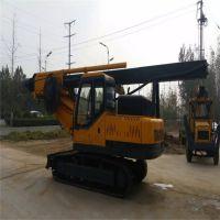 山东省全新旋挖钻机 高效节能轮式旋挖机 15米履带式旋挖钻机