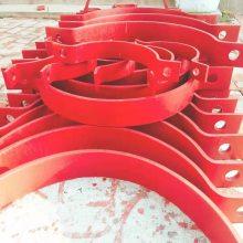 A5基准型双螺栓管夹 A6重型双螺栓管夹 双螺栓管夹定做