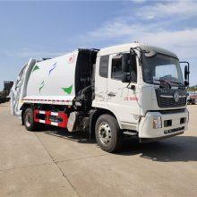厂家直销国六压缩垃圾车价格 10吨12吨垃圾车 湖北随州垃圾车送车上门