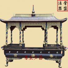 长方形八龙柱香炉 生铁消失模铸造 苍南誉盛法器批发