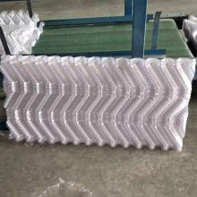 安徽冷却塔填料S波 厚度35mm 塑料薄膜式 改性耐温
