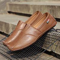 厂家直销豆豆鞋男士季真皮英伦帆船男鞋潮流男鞋休闲皮鞋懒人鞋