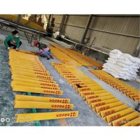 玻璃钢公里桩里程碑 玻璃钢供水界桩 地界管道定制 品牌华庆