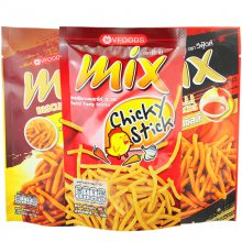 泰国 MIX原味脆脆条膨化食品生产设备线