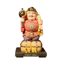黑天太神,大黑天神木雕彩绘亚博里面的AG真人河南亚博里面的AG真人厂直销