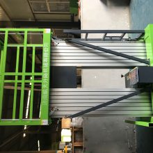 开远供应双柱6米铝合金升降机 批发单柱双柱四柱移动式升降台 航天机械