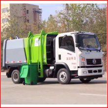 榆林小区用5方自装卸式垃圾车挂桶垃圾车价格
