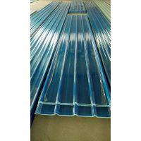 FRP采光板热膨胀系数和钢板接近,不会因为热胀热胀冷缩在打钉处开裂而漏水