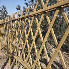 绿化带围栏 温州公园篱笆隔离栏杆 农村建设仿竹栏栅厂家