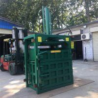 塑料挤包打块机 立式液压打包机 吨袋压包机厂家