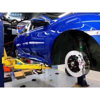 [深圳车精灵制动改装]思域刹车升级前轮VINIC大四活塞和后轮一对加大盘,完美帅气制动、告别刹车疲软