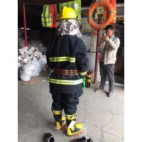 北京供应消防服 消防员灭火防护服 微型消防站专用消防防货服 消防头盔