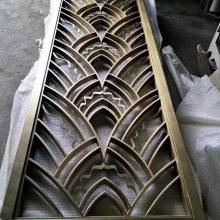 订制仿古铜不锈钢屏风,不锈钢隔断订制厂家