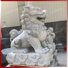 招财貔貅 石头雕刻貔貅图片 企业门口貔貅石雕摆件