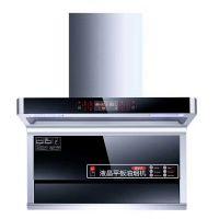 厂家直销7字型侧吸式抽油烟机自动清洗油烟机体感触控式烟机 OEM